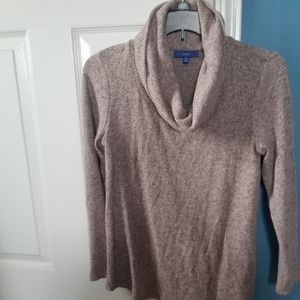 ❤2 for $10 Pink and Gray Cowl Neck Sweater